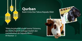 Tebar Qurban Bersama Yatim Dan Dhuafa