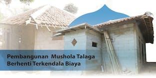 Sudah 40 Tahun Mushola Talaga di Bangun, Saat ini Butuh Bangunan layak