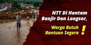 Urgent banjir bandang dan longsor Flores NTT!!!