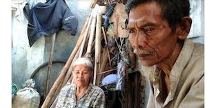 Sepasang Lansia Menahan Lapar Di Gubuk Tak Layak
