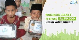 Gandakan Pahala, Sedekah untuk 10.000 Yatim Lapar