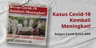 Putus Rantai Penyabaran Covid-19, Donasi APD Dan Sembako