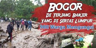 Urgent! Banjir Bandang dan Lumpur Menghantam Bogor