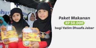 Yatim Dhuafa Jawa Barat Tidak Bisa Berbuka Puasa