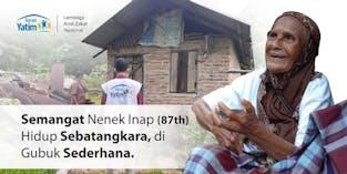 Nenek Inap (85) Penghasilan Rp. 250 Per Batu Bata, Ia Harus Berhenti Akibat Usia