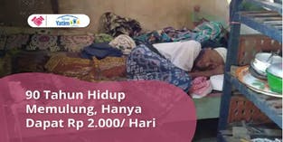 Bantu Lansia Dhuafa Hidup Layak