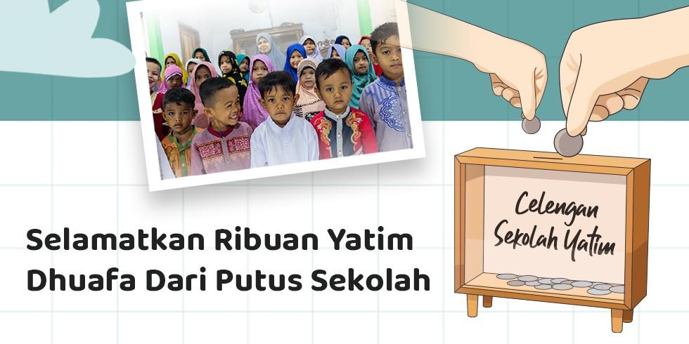 Celengan Untuk Biaya Pendidikan Ribuan Yatim Dhuafa