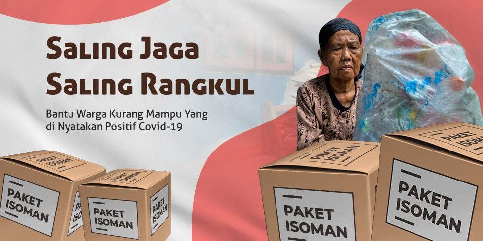 Bantuan Paket Isoman Untuk Warga Dhuafa