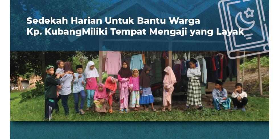 Bantu Anak-anak di Sawahgede Mengaji dengan Nyaman