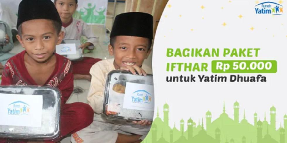 Yatim Dhuafa Lampung Tidak Bisa Berbuka Puasa