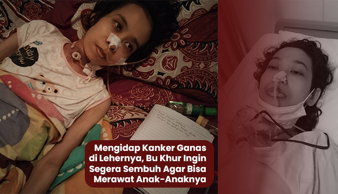 Urgent!! 8 bulan Kanker Mencekik Leher Ibu 2 Anak Ini