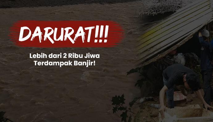Aksi Peduli Bantu Korban Banjir di Luwu